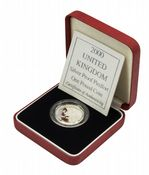2000 Silver Proof Piedfort One Pound